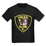 Elgin Illinois Police Kids Dark T-Shirt