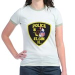 Elgin Illinois Police Jr. Ringer T-Shirt