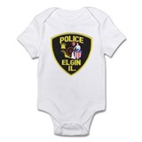 Elgin Illinois Police Onesie