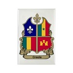 CREOLE Shield Rectangle Magnet (10 pack)