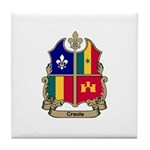 CREOLE Shield Tile Coaster