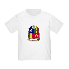 CREOLE Shield Toddler T-Shirt