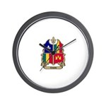 CREOLE Shield Wall Clock