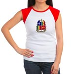CREOLE Shield Women's Cap Sleeve T-Shirt