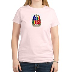 CREOLE Shield Women's Pink T-Shirt