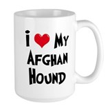 Afghan Hound Ceramic Mugs