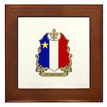 Fier Acadien Framed Tile