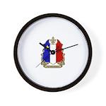Fier Acadien Wall Clock