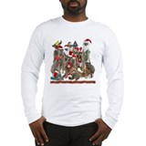Xmas Meerkats Long Sleeve T-Shirt