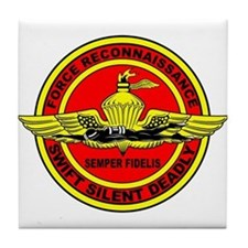 Force Recon Tile Coaster