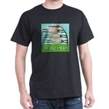 Three Sheeps to the Wind Black T-Shirt