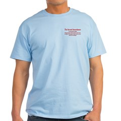 The Second Amendment Light T-Shirt