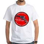 The Second Amendment White T-Shirt