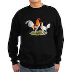 Old English Bantam: Red Pyle Sweatshirt (dark)