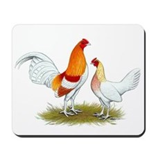 Old English Bantam: Red Pyle Mousepad
