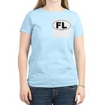 Fort Lincoln Decal-style Women's Pink T-Shirt