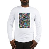 graffiti of the word peace tr Long Sleeve T-Shirt