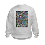 graffiti of the word peace tr Sweatshirt