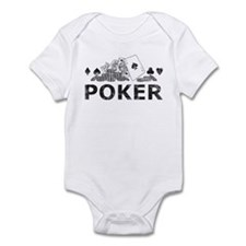 Vintage Poker Infant Bodysuit