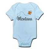 Butterfly MT Montana Onesie
