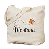 Butterfly MT Montana Tote Bag