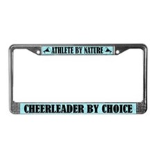 Athlete By Nature Cheerleader By Choice Frame