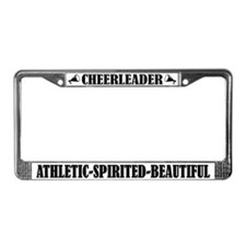 Cheerleader Athletic Spirited Beautiful Frame