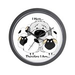 Sheepdog - I Herd... Wall Clock