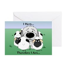 Sheepdog - I Herd... Greeting Cards (Pk of 20)