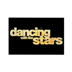 DWTS Logo Rectangle Magnet