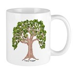 Spring Tree Mug with Hug - Left Handed