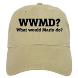 What would Mario do? Baseball Cap