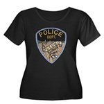 Oblong Illinois Police Women's Plus Size Scoop Nec