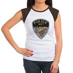 Oblong Illinois Police Women's Cap Sleeve T-Shirt