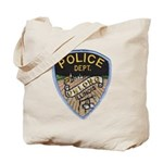 Oblong Illinois Police Tote Bag