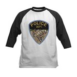 Oblong Illinois Police Kids Baseball Jersey