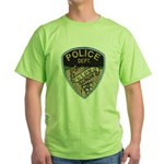 Oblong Illinois Police Green T-Shirt