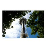 Space Needle 2 Postcards (Package of 8)