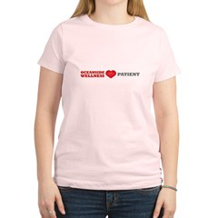 Oceanside Wellness Patient Women's Light T-Shirt
