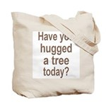 Spring Tree Tote Bag with Hug