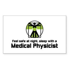 Medical Physicist Decal