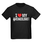 I Love My Archaeologist T