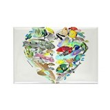 Heart of the Reef Rectangle Magnet (100 pack)