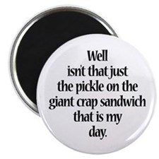 "Giant Crap Sandwich 2.25"" Magnet (100 pack)"