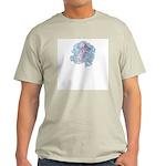 Tropical Fish Ash Grey T-Shirt