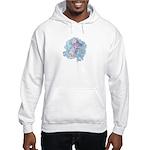 Tropical Fish Hooded Sweatshirt