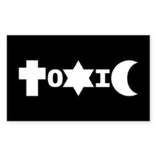 ToXiC Faith Logo Sticker (3x5)