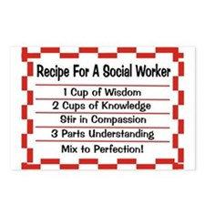 Social Worker II Postcards (Package of 8)