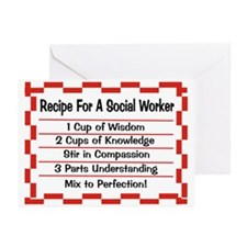 Social Worker II Greeting Cards (Pk of 10)