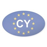 EU Cyprus Decal